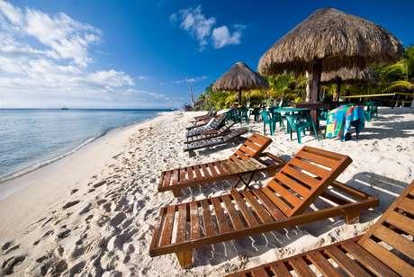 Cozumel, no México, é a última escala do cruzeiro, ideal para quem quer relaxar