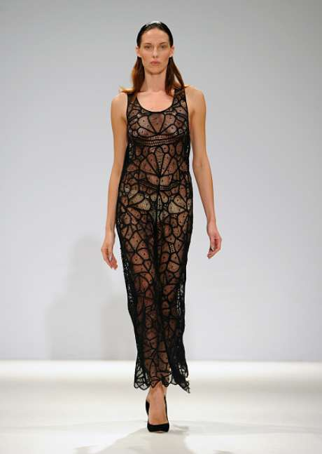 Desfile da Mariana Jungmann na Semana de Moda de Londres