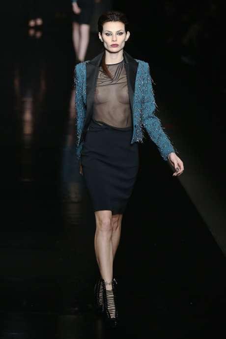 Desfile de John Richmond, na Semana de Moda de Milão