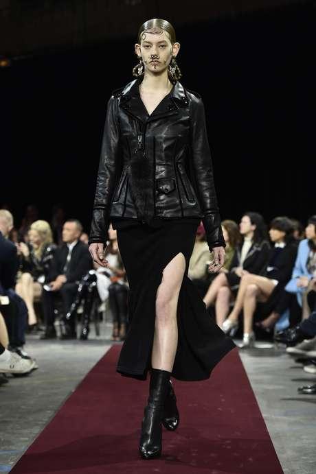 Desfile de Givenchy na semana de moda de Paris