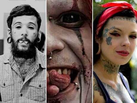 <p>Tatuagem no globo ocular ganha adeptos no Brasil</p>