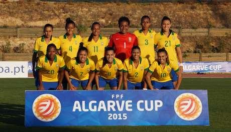 Seleção feminina disputará apenas o sétimo lugar da Copa Algarve