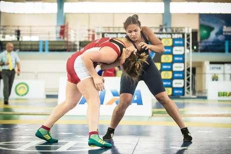 <p>Aline Silva é vice-campeã mundial na categoria até 75 kg</p>