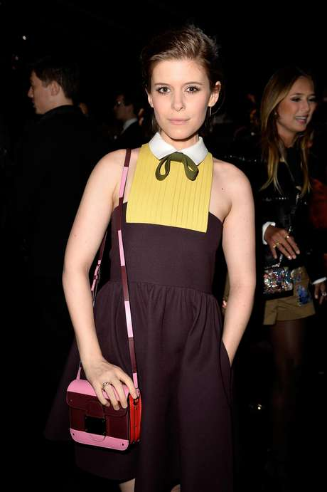 A atriz Kate Mara no desfile da Maison Valentino