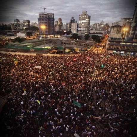 Manifestações em SP este ano rechaçaram o aumento da tarifa de transporte - de R$ 3 para R$ 3,50