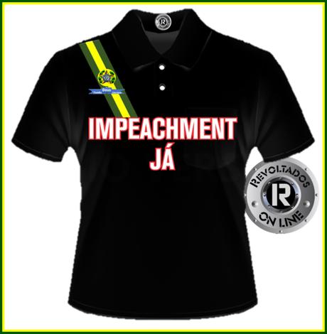 <p>Camisa vendida a R$ 99 pelo grupo Revoltados On Line</p>