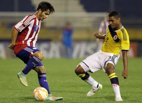 Paraguai e Colômbia ficaram no empate