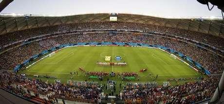 Arena Amazônia, em Manaus, em foto de arquivo.   14/06/2014