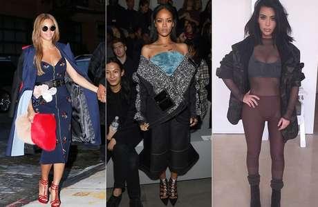 Beyoncé, Rihanna, Kim Kardashian
