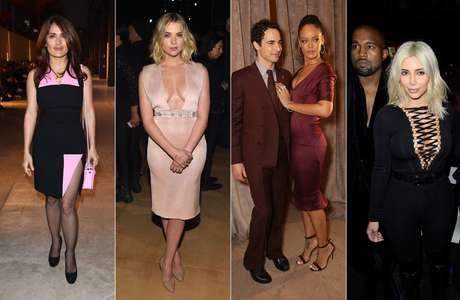 Salma Hayek, Ashley Benson, Rihanna, Kim Kardashian