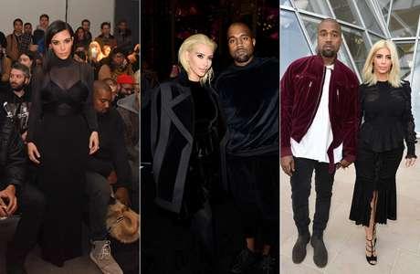 Kim Kardashian em Nova York e Paris