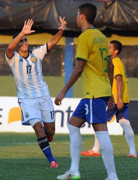 Berterame decidiu a partida para a seleção da Argentina