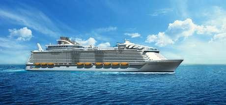 Harmony of the Seas se juntará ao Oasis e ao Allure of the Seas no Caribe