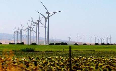 Brasil foi o quarto país no mundo que mais aumentou a capacidade eólica.