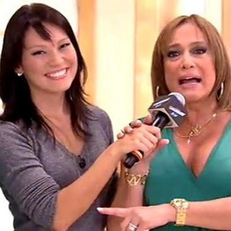 Geovanna Tominaga protagonizou momento constrangedor com Suzana Vieira