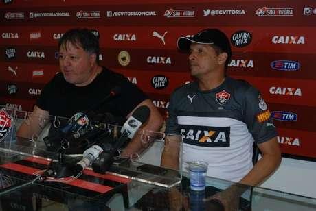 <p>Claudinei Oliveira chegou ao clube há uma semana</p>