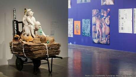 """""""La bestia y el soberano"""" pretendía explorar """"cómo las prácticas artísticas contemporáneas cuestionan y deshacen la definición occidental y metafísica de la soberanía política""""."""