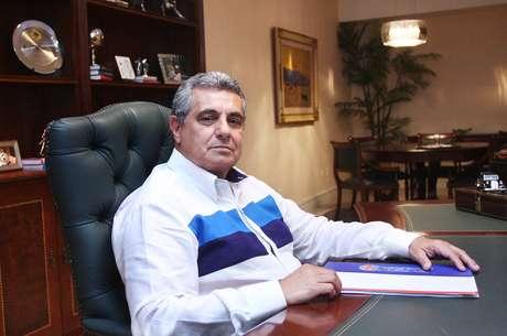 <p>Rubens Lopes da Costa Filho, presidente da Ferj: pol&ecirc;micas por tonelada no Campeonato Carioca</p>