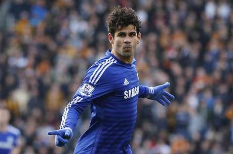 Diego Costa fez o segundo gol da vitória do Chelsea
