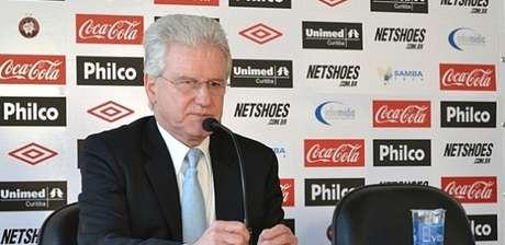Marcos Malucelli foi presidente do clube entre 2009 e 2011