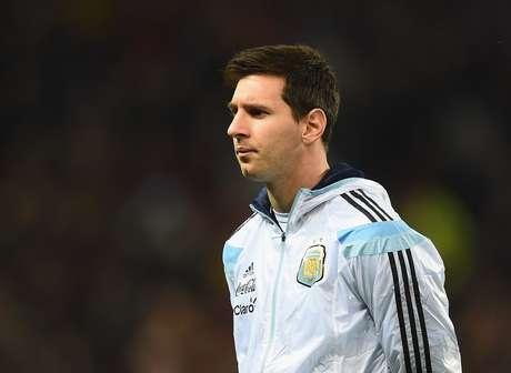 Lionel Messi é o grande nome da Argentina