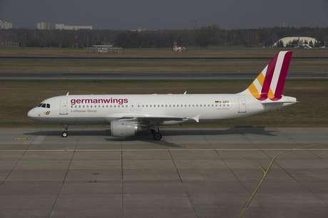Airbus A320 da Germanwings, mesmo modelo do que caiu no sul da França