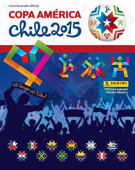 Álbum da Copa América começou a ser comercializado no Brasil nesta semana
