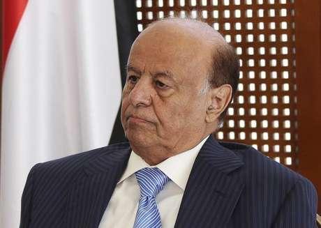 Presidente do Iêmen, Abd-Rabbu Mansour Hadi, em foto de arquivo. 04/03/2015
