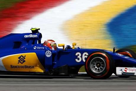 Presente apenas no segundo treino, Felipe Nasr ficou atrás de seu companheiro de Sauber