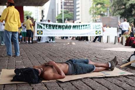 Marcha em São Paulo saiu da avenida Paulista, no sentido do Ibirapuera