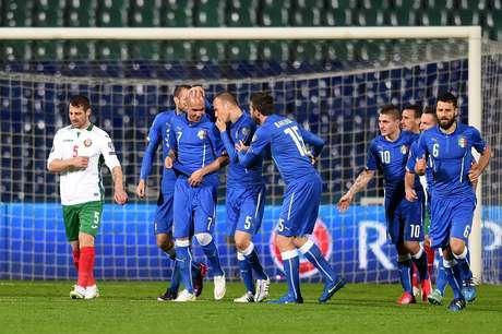 Itália arrancou empate contra a Bulgária