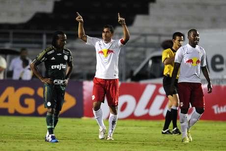 <p>Red Bull Brasil venceu o Palmeiras na primeira fase do Estadual</p>