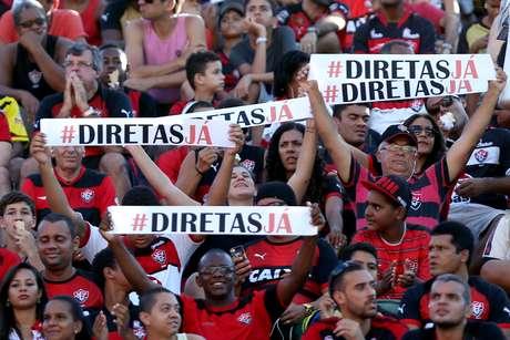 Torcida do Vitória quer eleições diretas no clube