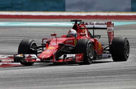 Vettel chegou esta temporada para a Ferrari