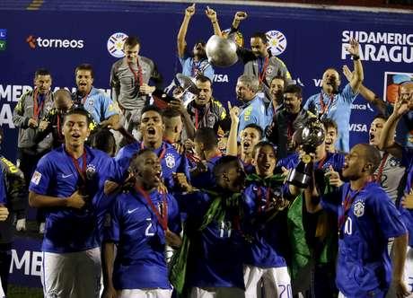 <p>Seleção Brasileira terminou o hexagonal final na primeira colocação</p>