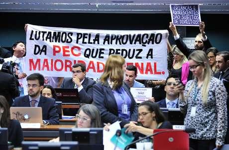 Reunião Extraordinária para discutir o PEC 171/93, imputabilidade penal do maior de dezesseis anos