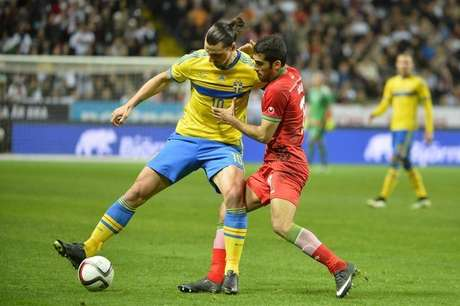 <p>Ibrahimovic comandou vitória sueca</p>