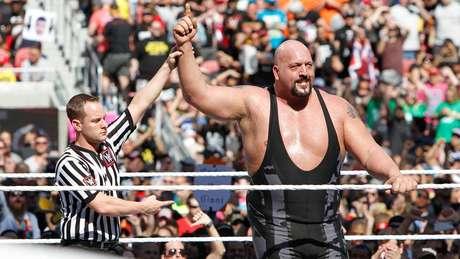"""<p>Big Show é vilão e chamado de """"O Maior Atleta do Mundo""""</p>"""