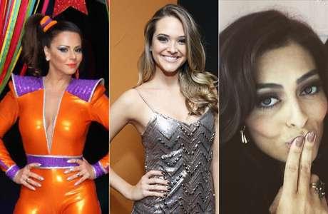 Viviane Araújo escolheu o prata, Juliana Paiva foi de cinza metalizado e Juliana Paes exibiu as unhas em rosa queimado e com brilho discreto