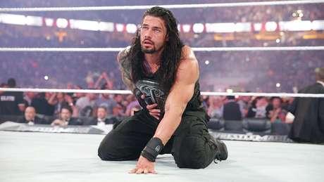 <p>Roman Reigns é o atual campeão do Royal Rumble</p>