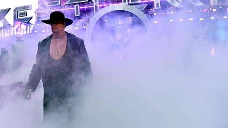 <p>The Undertaker é uma lenda e talvez o melhor wrestler da história</p>