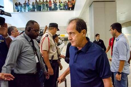 <p>Muricy Ramalho sofre com problemas de saúde</p>