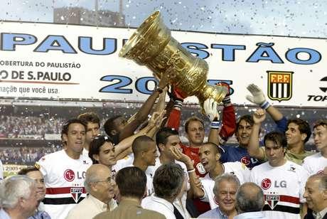 Resultado de imagem para SPFC 2005 Campeão Paulista