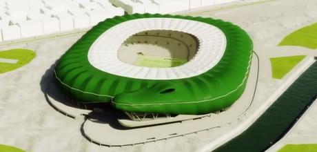 Timsah Arena terá capacidade para 45 mil pessoas