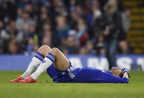 Diego Costa aguentou apenas dez minutos no Stamford Bridge