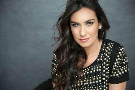 Larissa era a apresentadora do Jogo Aberto do Rio de Janeiro