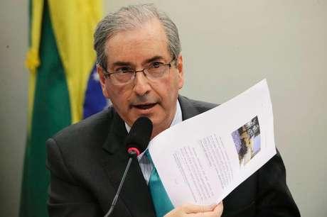 Presidente da Câmara dos Deputados, Eduardo Cunha (PMDB-RJ),  em foto de arquivo.  12/03/2015
