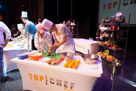 Chefs comandam atividades com hóspedes em cruzeiro temático Top Chef