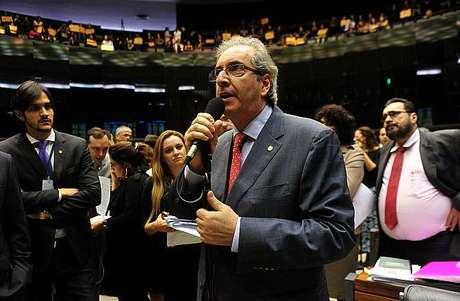 Cunha ajudou o pastor Marco Feliciano (PSC-SP) a se tornar presidente da Comissão de Direitos Humanos da Câmara, em 2013