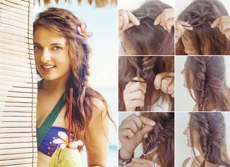 p\u0026gt;Este look bohemio es ideal para la playa.